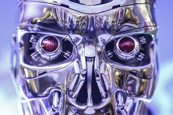 A robot from the Terminator franchise.