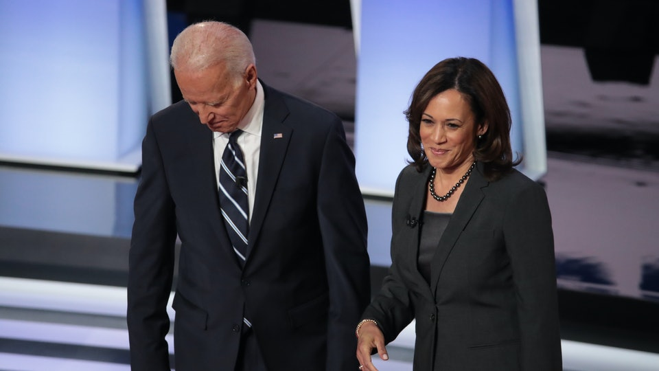 Can Kamala Harris' progressive stance on paid family leave sway Joe Biden now that she's his 2020 running mate?
