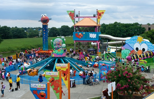 A teenage worker at Sesame Place was allegedly punched after telling a park patron to wear a mask.