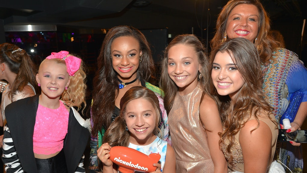 The 'Dance Moms' cast attends the Kids Choice Awards.
