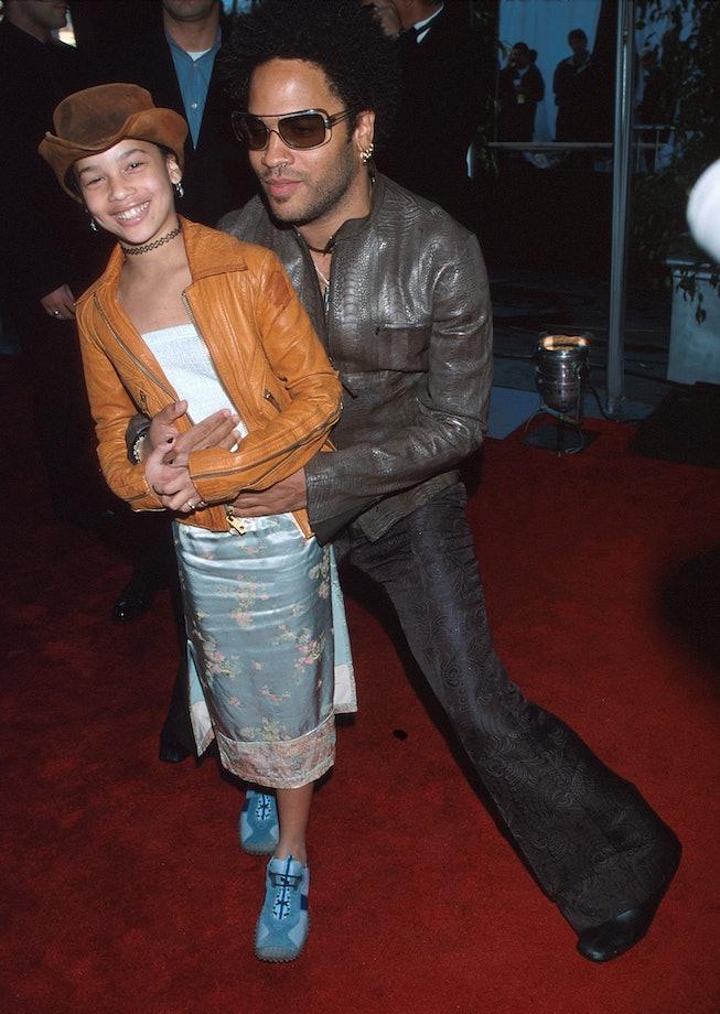 Zoe Kravitz at the 2000 Grammys.