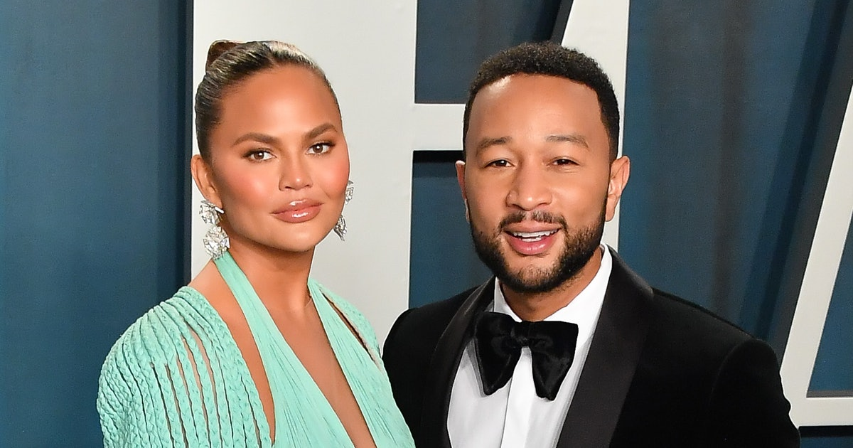 Chrissy Teigen Confirms She's *Definitely* Pregnant With A New Baby Bump Video