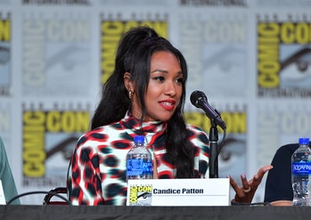 the flash candice patton bawse dc fandome