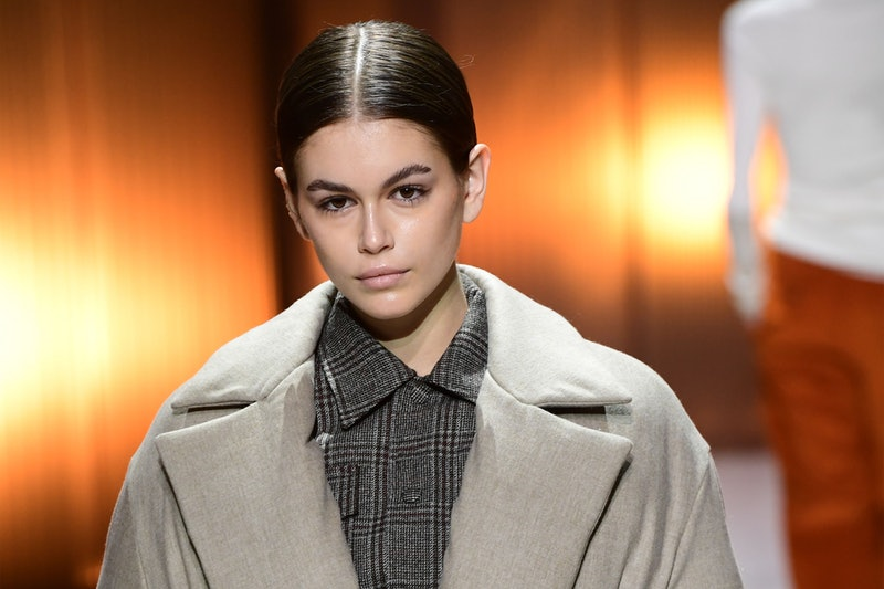 Kaia Gerber just dyed her hair the lightest shade of blonde ever