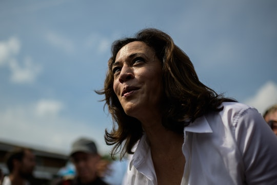 Throughout her time in public office, Democratic vice president nominee Kamala Harris has often been...
