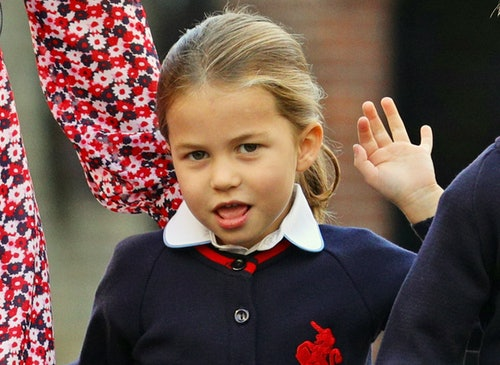 Princess Charlotte is over it.