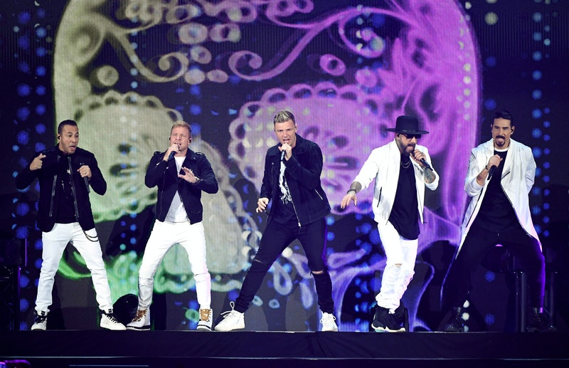 The Backstreet Boys on tour in 2019