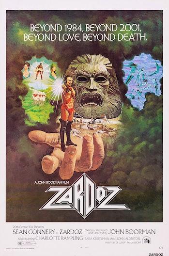 It's Zardoz!
