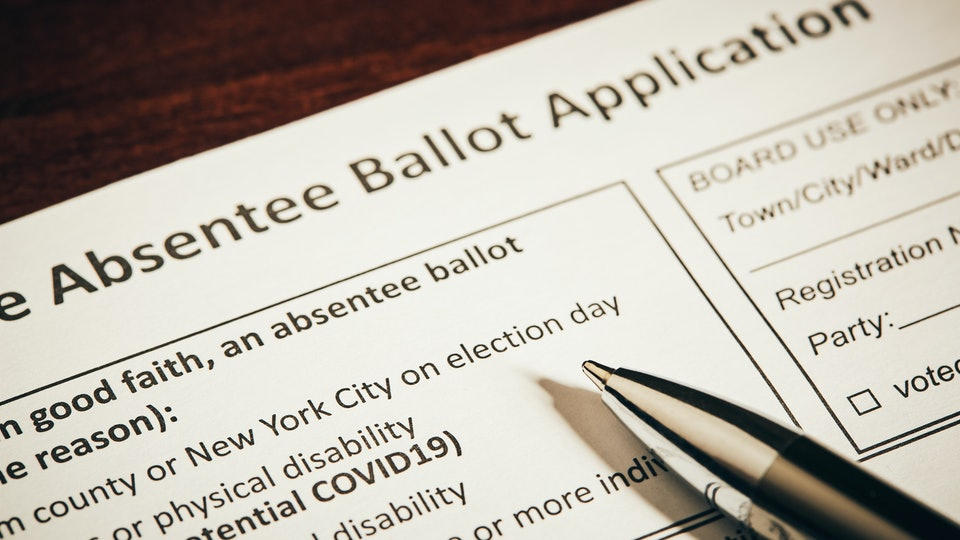 With COVID-19 continuing to spread in dozens of states, many voters are wondering how to request a mail-in ballot ahead of the November election.