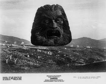 The stone head is undeniably cool.