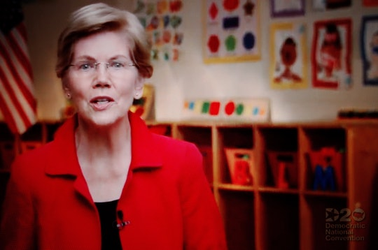 Elizabeth Warren continues to step up for the Black Lives Matter movement.