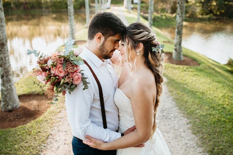wedding, couple