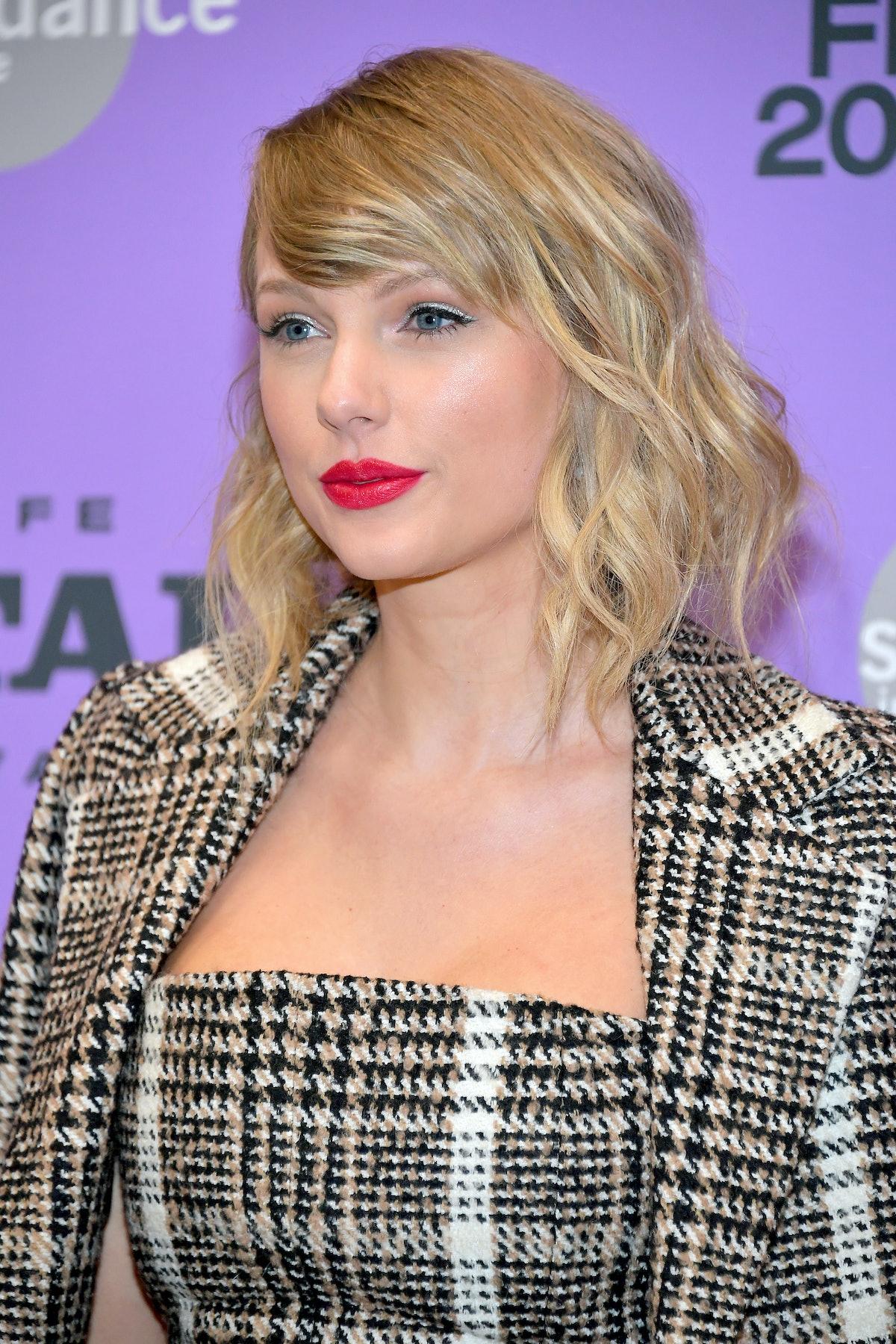 Taylor Swift attends Sundance.