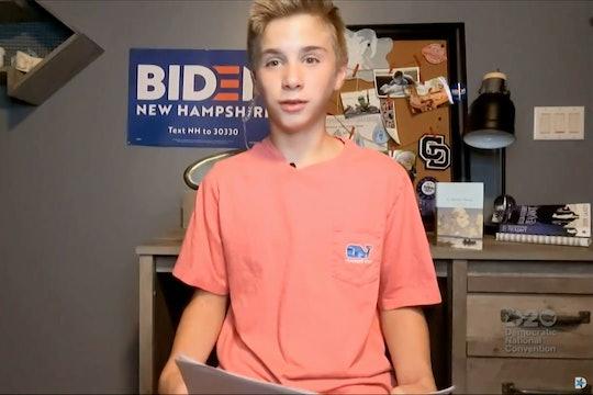 Braden Harrington shared his heartwarming experience of bonding with Joe Biden over their stutters.
