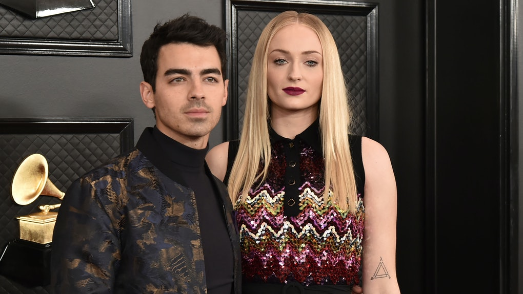 Sophie Turner and Joe Jonas have Sansa's 'Game of Thrones' throne in their house.