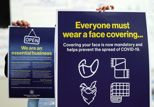 In new guidance for retail and service workers the Centers for Disease Control and Prevention (CDC) has warned not to confront anti-maskers who make threats or get violent over COVID-19 policies.