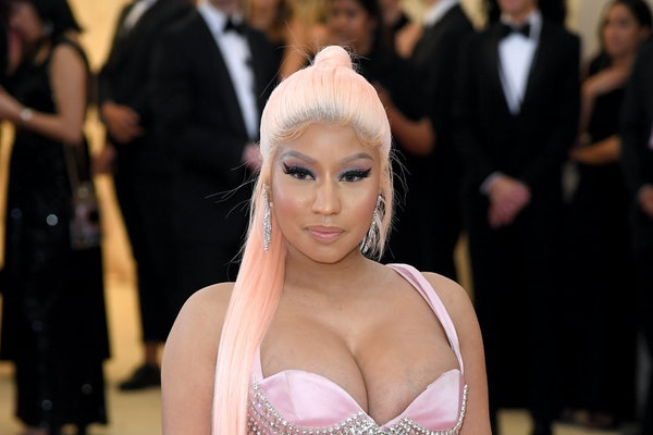 Nicki Minaj attends the Met Gala.
