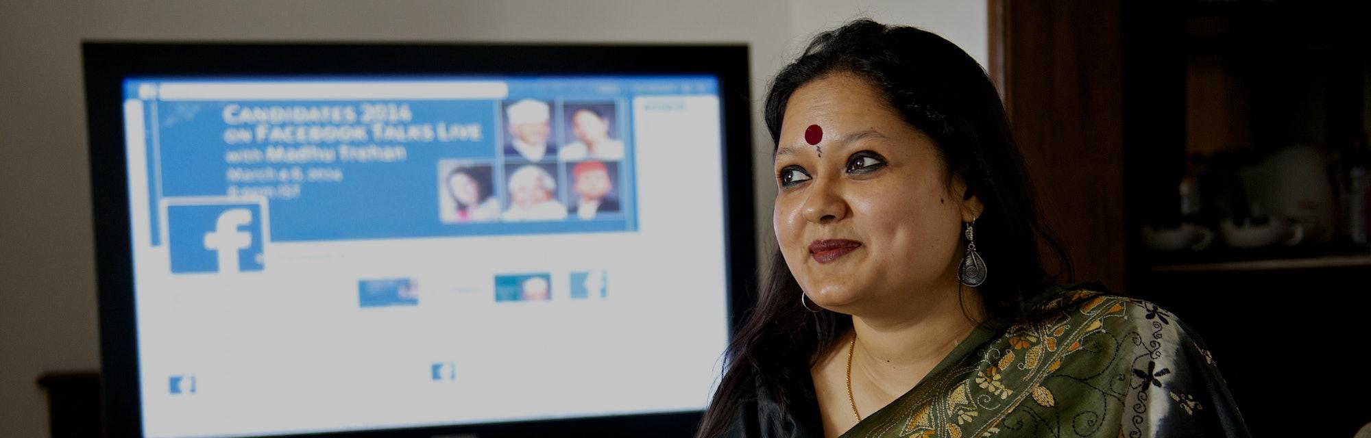 Facebook executive Ankhi Das.