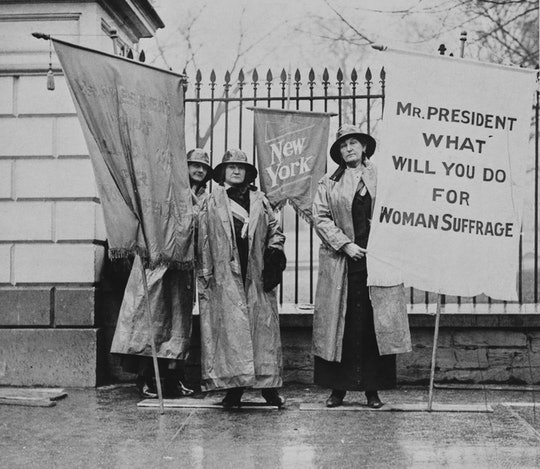 This Women's Equality Day there are a number of ways to celebrate and honor suffragists with children.