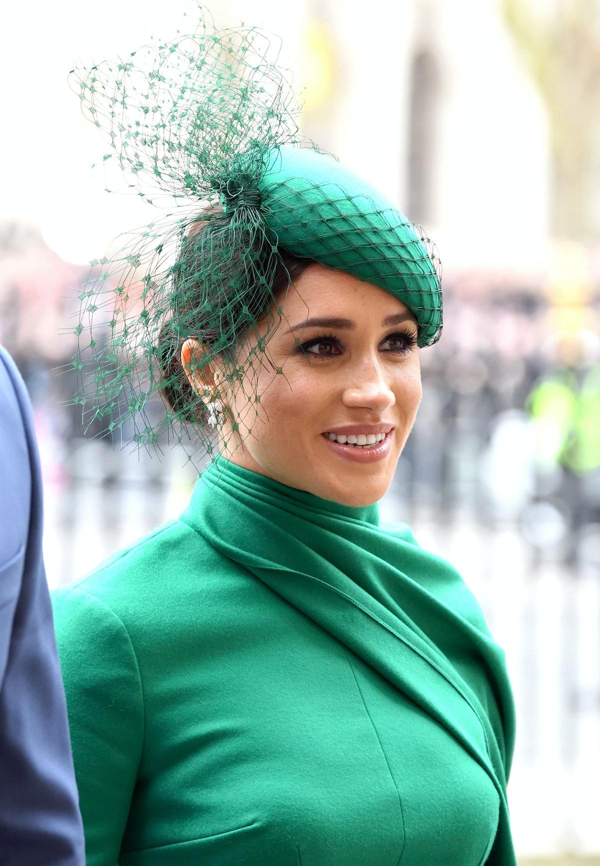 Meghan Markle steps out for a royal affair.