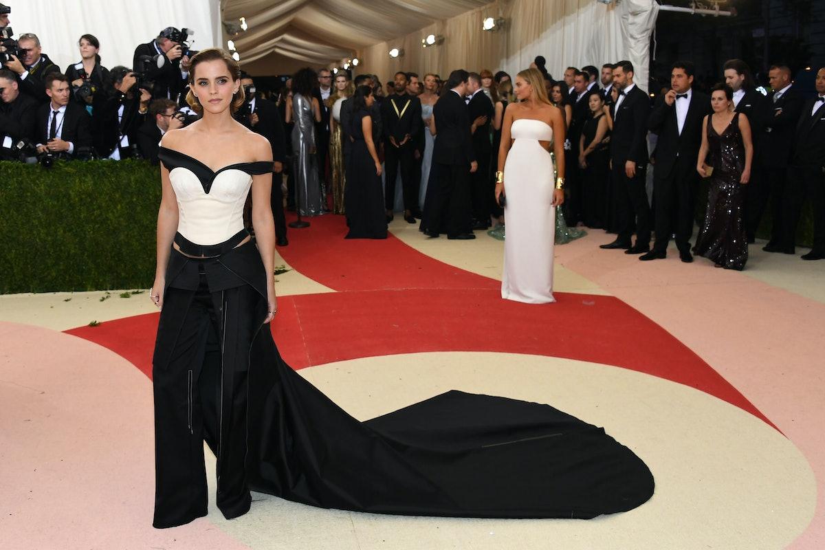 Emma Watson Met Gala red carpet
