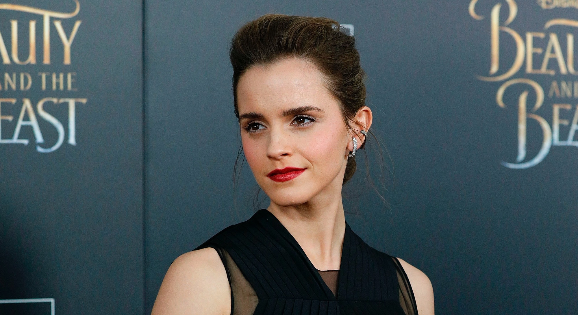 Emma Watson Beauty And The Beast Red Carpet
