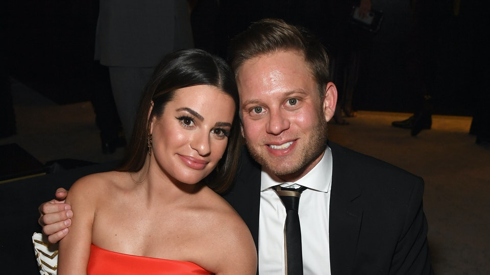 Lea Michele shared the first glimpse at her son, Ever Leo, on Aug. 26.