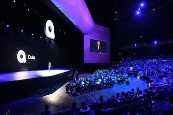 Quibi's launch event.