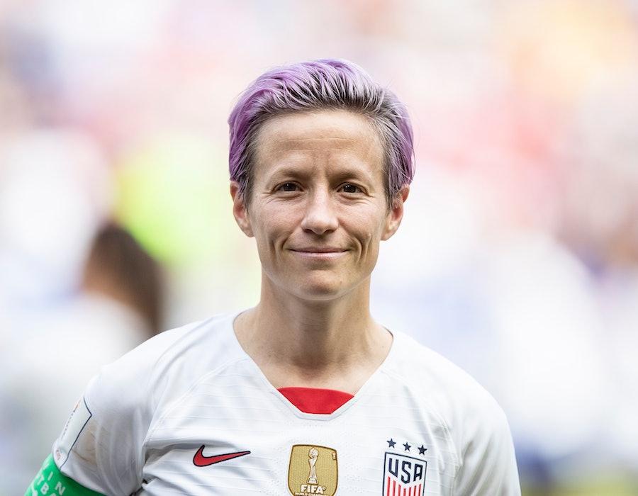 Megan Rapinoe At Fifa