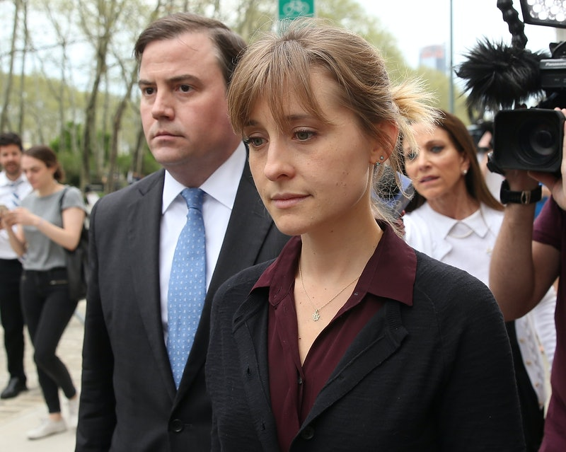 Allison Mack, a formerly active member of NXIVM.