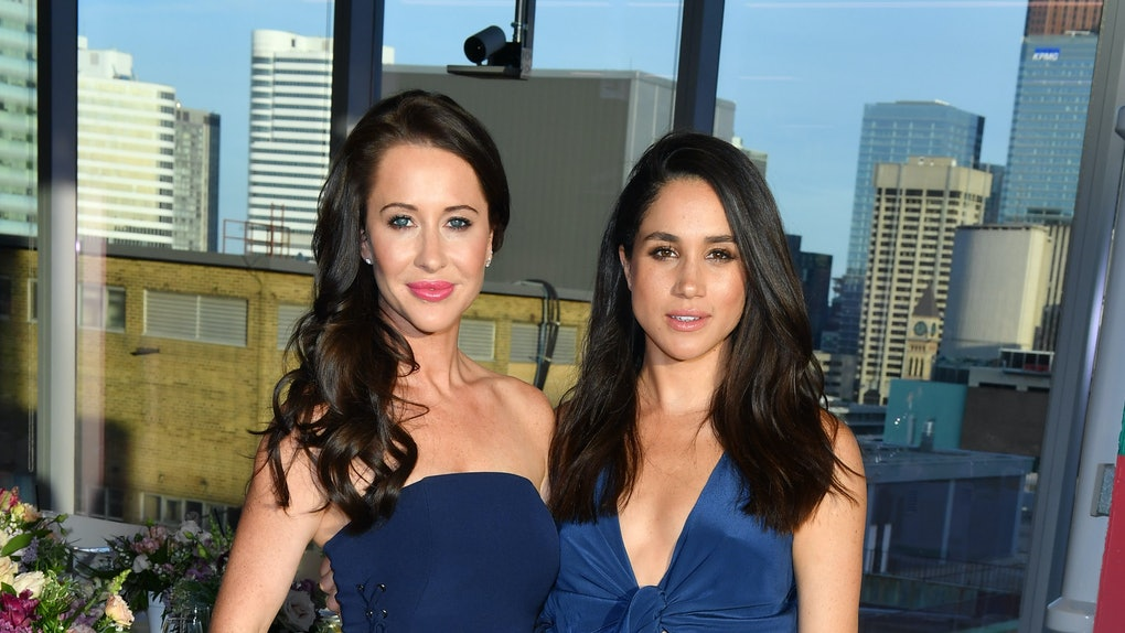Meghan Markle poses with friend Jessica Mulroney.