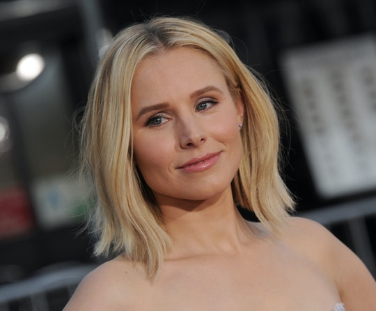 "Kristen Bell is ""exhausted"" on day two of school."