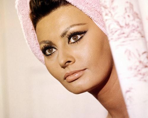 Sophia Loren's cat-eyes were unparalleled.