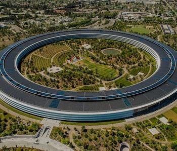 Apple headquarters.