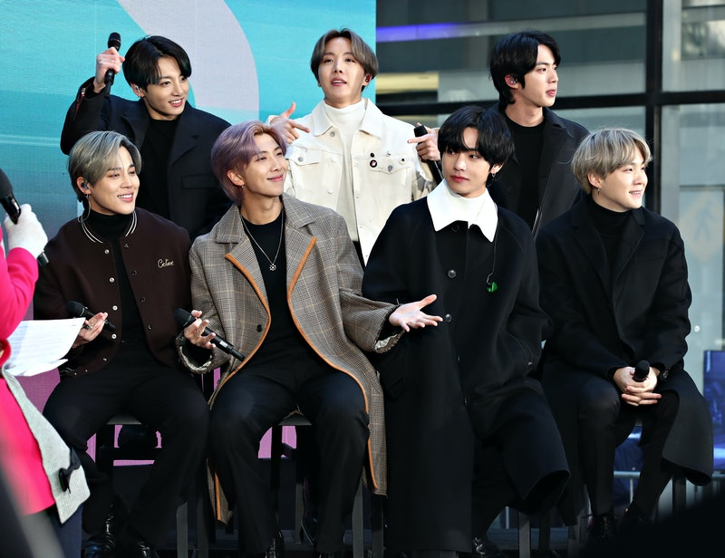 BTS, who are set to perform at the 2020 VMAs.