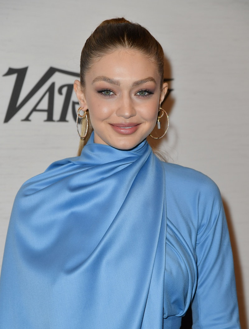 Gigi Hadid opened up about shooting her maternity photos and modeling while pregnant.