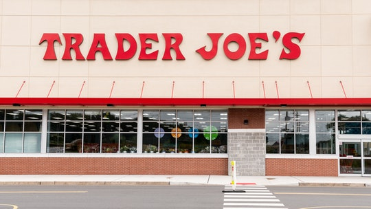 Front of trader Joe's store, which will be open on labor day