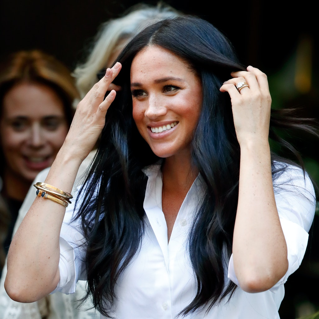 Meghan Markle spoke with Gloria Steinem about the importance of voting in a backyard chat.