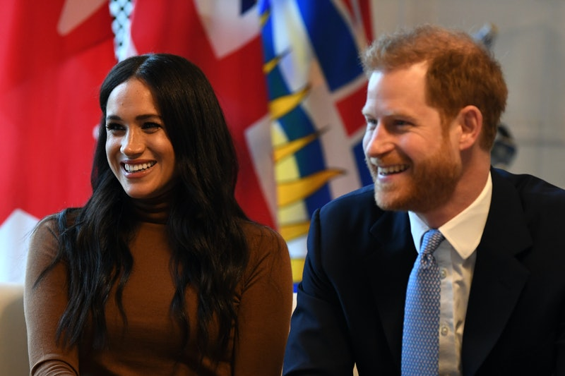 Harry and Meghan's dog's name has been revealed.