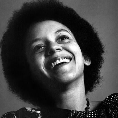 Poet and professor Nikki Giovanni photographed in 1970