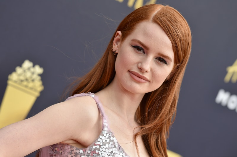 Madelaine Petsch poses on the red carpet