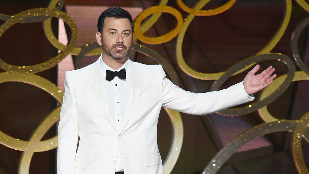 Jimmy Kimmel, host of the 2020 virtual Emmys show