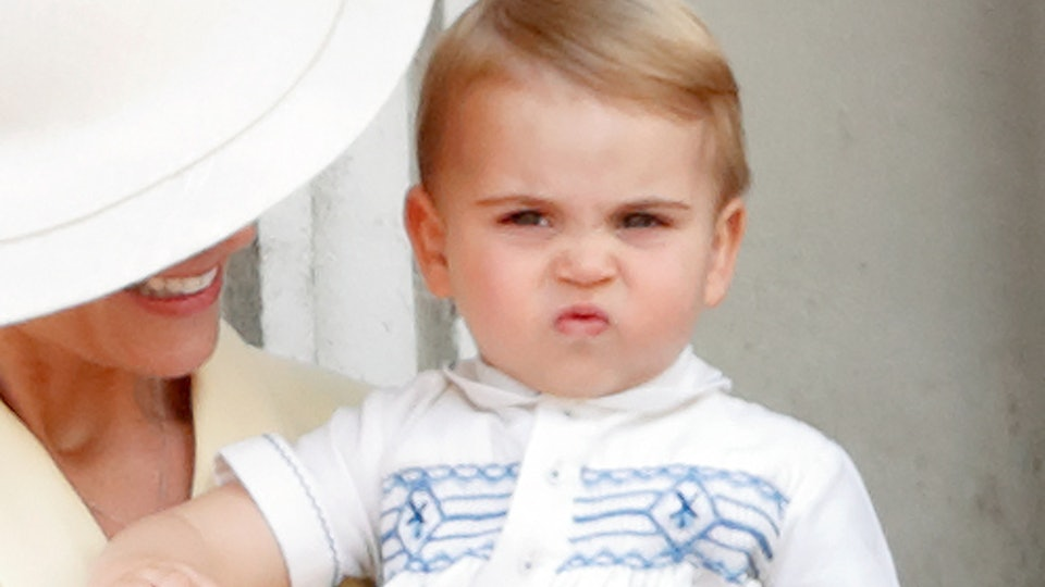 Prince Louis looks just like his brother Prince George.