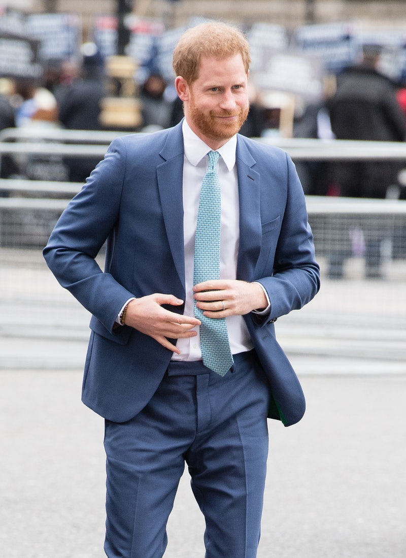 Prince Harry is ready to return to the U.K. for a visit.