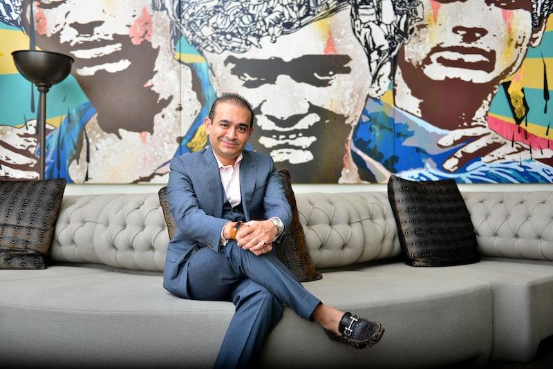 Nirav Modi, who's featured in Netflix's 'Bad Boy Billionaires'