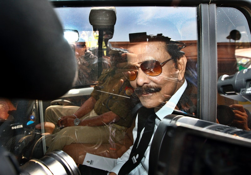 Subrata Roy, who's featured in Netflix's 'Bad Boy Billionaires'