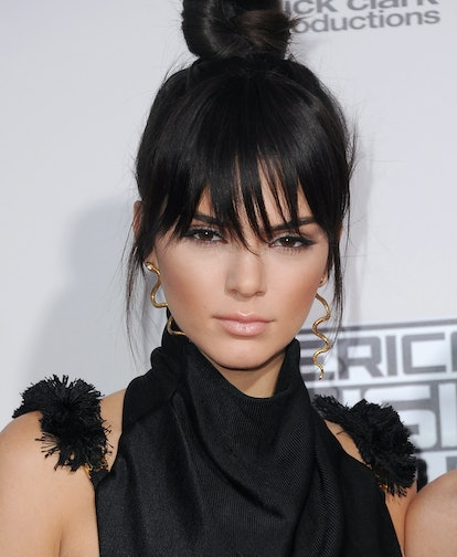 Hair pieces like clip-in bangs and pony tails will be popular for fall 2020.