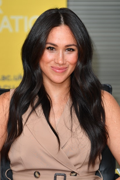 Markle donned a perfect no-makeup makeup look while in South Africa.
