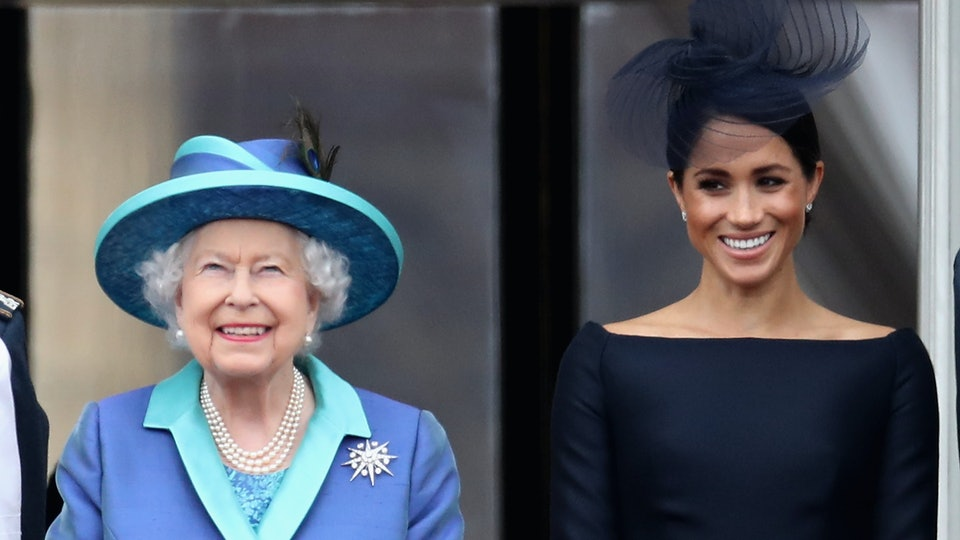 The queen took to social media to wish Meghan Markle a happy birthday by sharing a photo that could contain a subtle clue about the pair's relationship.