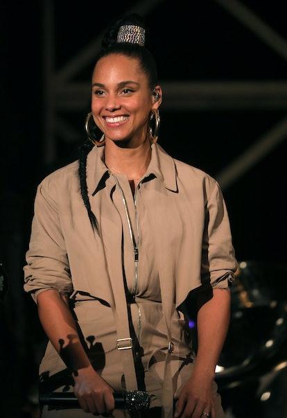 Alicia Keys' e.l.f. partnership will launch in 2021.